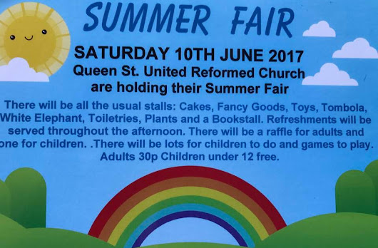 MIDDLEWICH URC SUMMER FAIR 2017