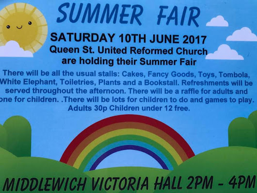 QUEEN STREET URC SUMMER FAIR 2017