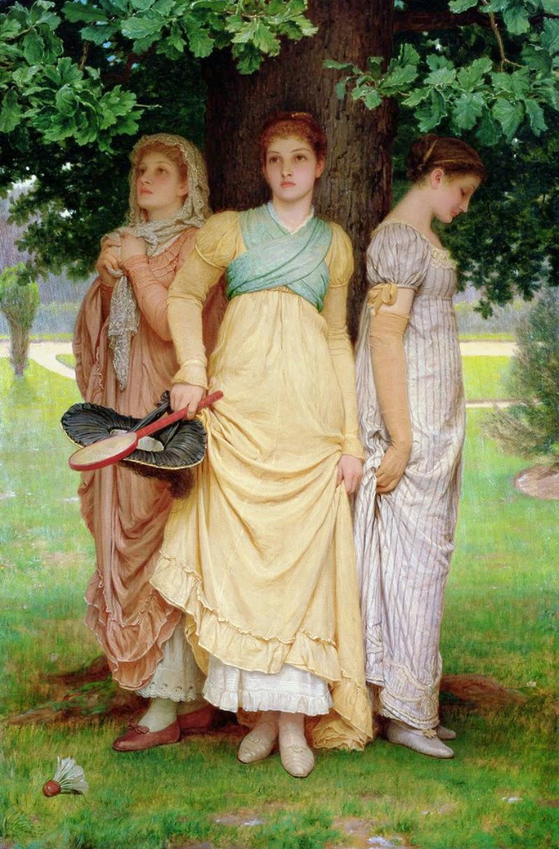 Bargain John's Antiques » Blog Archive Antique Oil ...  Victorian Painting Portrait Artists