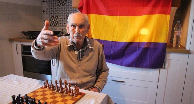 El miliciano Vicent Almudéver cumple 100 años