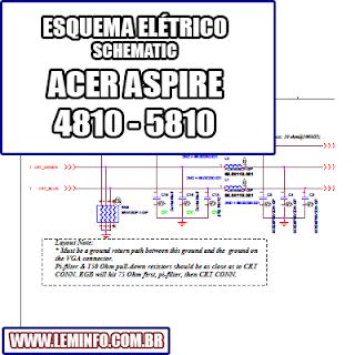 Esquema Elétrico Notebook Laptop Acer Aspire 4810 - 5810 Manual de Serviço  Service Manual schematic Diagram Notebook Laptop Acer Aspire 4810 - 5810    Esquematico Notebook Laptop Acer Aspire 4810 - 5810