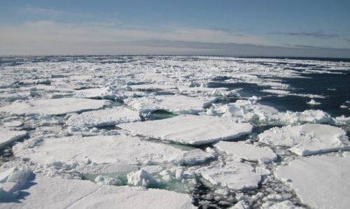 Deshielo de los Glaciares del Ártico