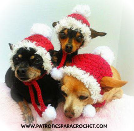 gorro-crochet-perro