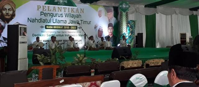 Berjumlah 125 Orang, Ini Susunan PWNU Jawa Timur Masa Khidmad 2018-2023