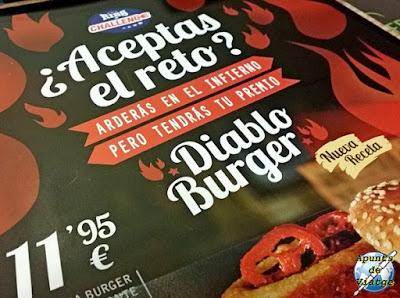 Reto Diablo Burger