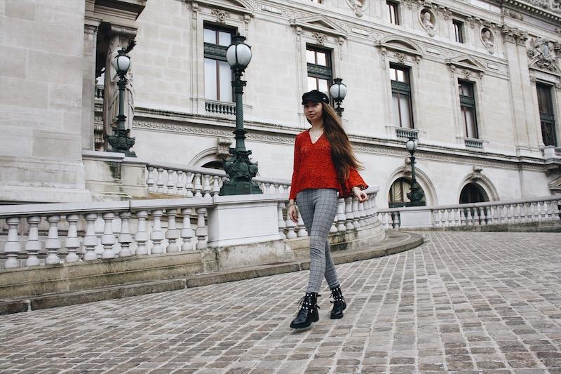 street style blog mode tendance prince de galle dentelle rouge paris 2018