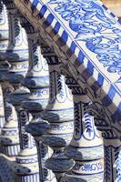 Plaza España in Seville has beautiful tile work