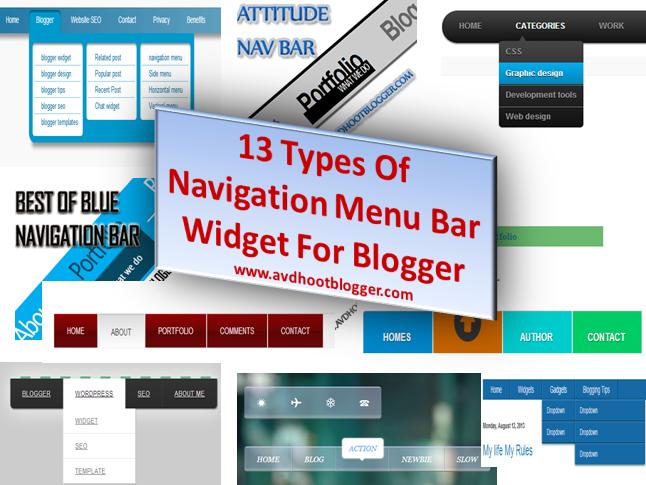 Blogger Navigation
