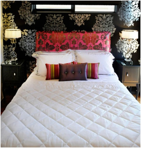 Glamorous women bedroom and low budget bedroom for Glamorous bedroom pictures