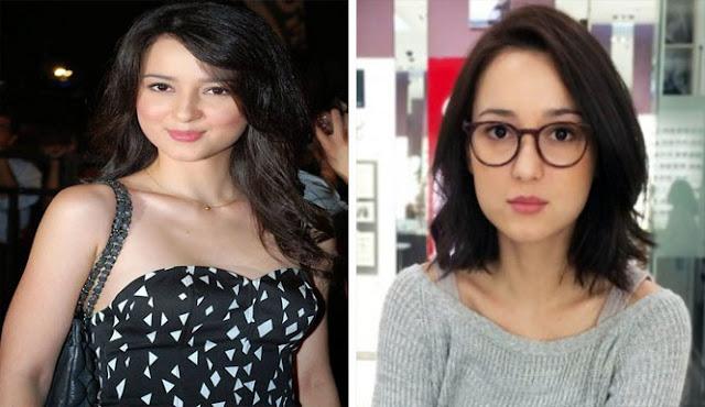 8 Foto Perbandingan Para Artis Saat Pakai Kacamata Dan Tidak, Cantik Mana Gaes? Pakai Atau Tidak.