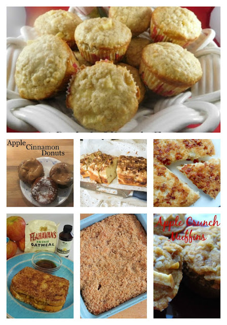 23 Family Favorite Apple Recipes - Apple Breakfasts #Celebrate365