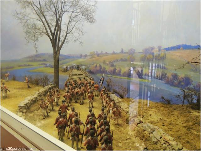 Museo Concord: Batalla de Concord