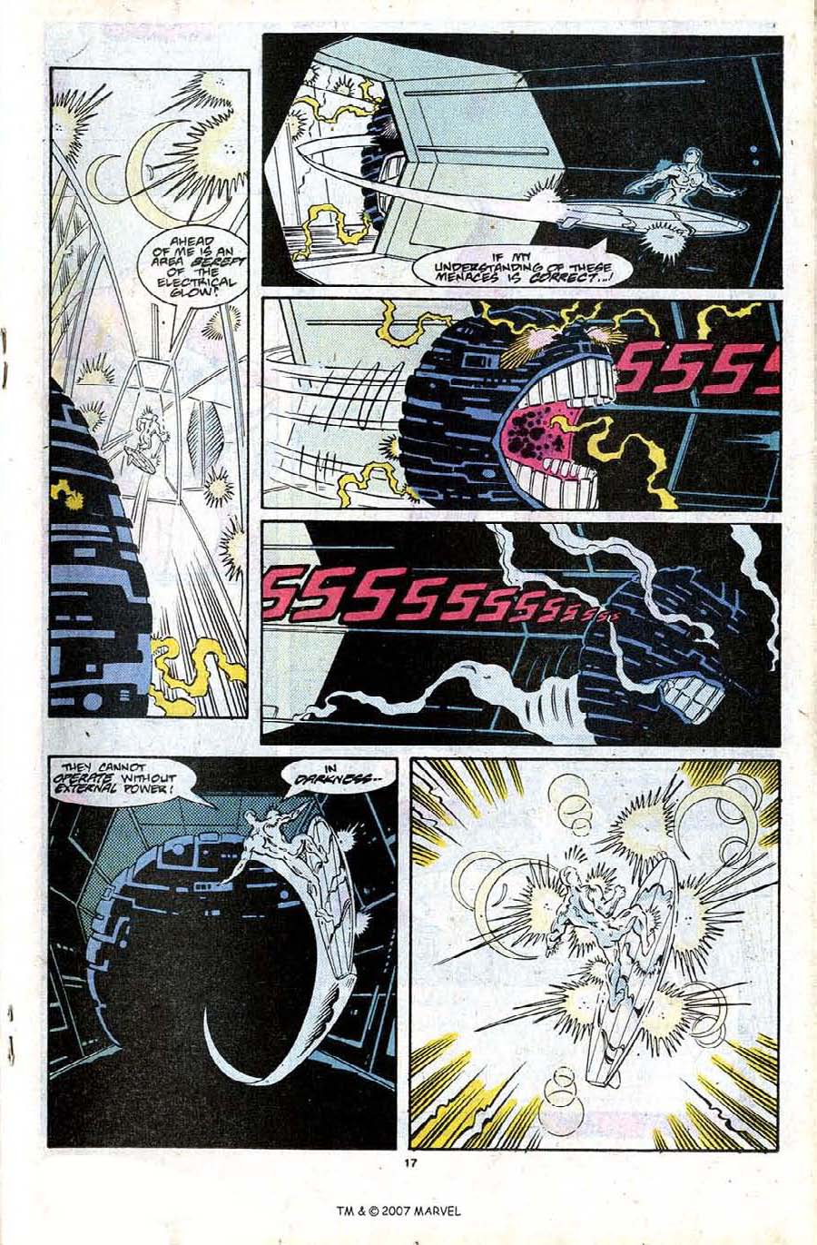 Read online Silver Surfer (1987) comic -  Issue #24 - 19