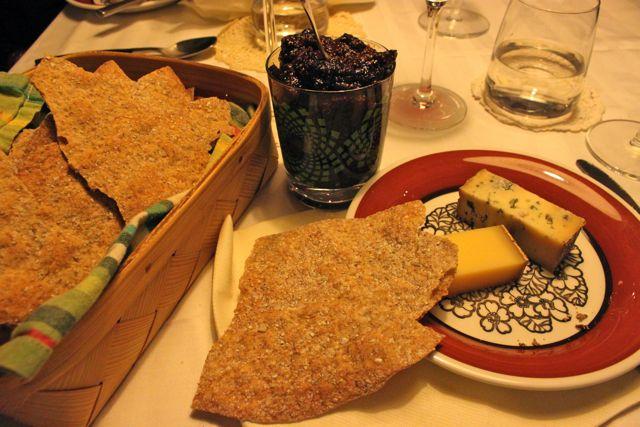 linn Soderstrom, Swedish supper club hostess, cheese board
