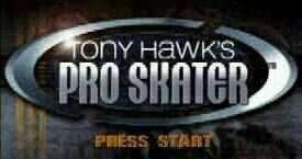 Game Tony Hawk's Pro Skater Nintendo 64