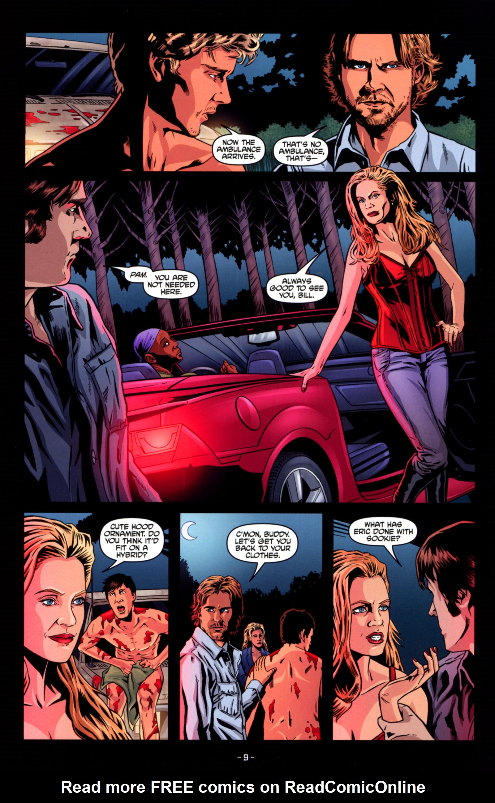 Read online True Blood: Tainted Love comic -  Issue #4 - 11