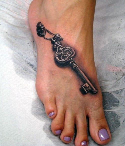 Tatuaże Na Stopę Damskie Cz 2 Tatuaże 100 Pro