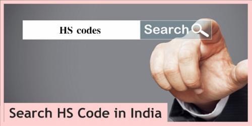 HS Code India