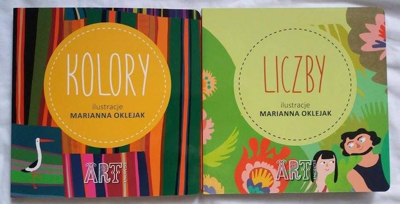 """Wyprawa w świat folkloru: """"Kolory"""" i """"Liczby"""" - Marianna Oklejak"""