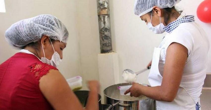 Preparan desayunos y almuerzos escolares en moderna infraestructura de Foncodes - Áncash