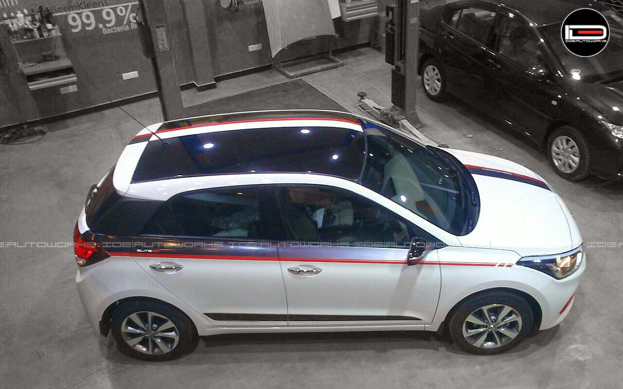 Hyundai I20 Elite W Racing Stripes Ide Autoworks
