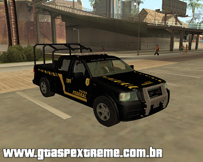 Ford F-150 Policia Federal para grand theft auto