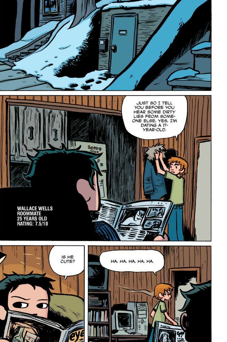 Read online Scott Pilgrim comic -  Issue #1 - 11