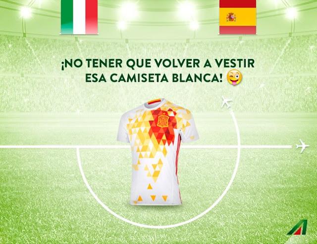 El pique Alitalia - Iberia por el Italia - España de la #Euro2016 arrasó en redes