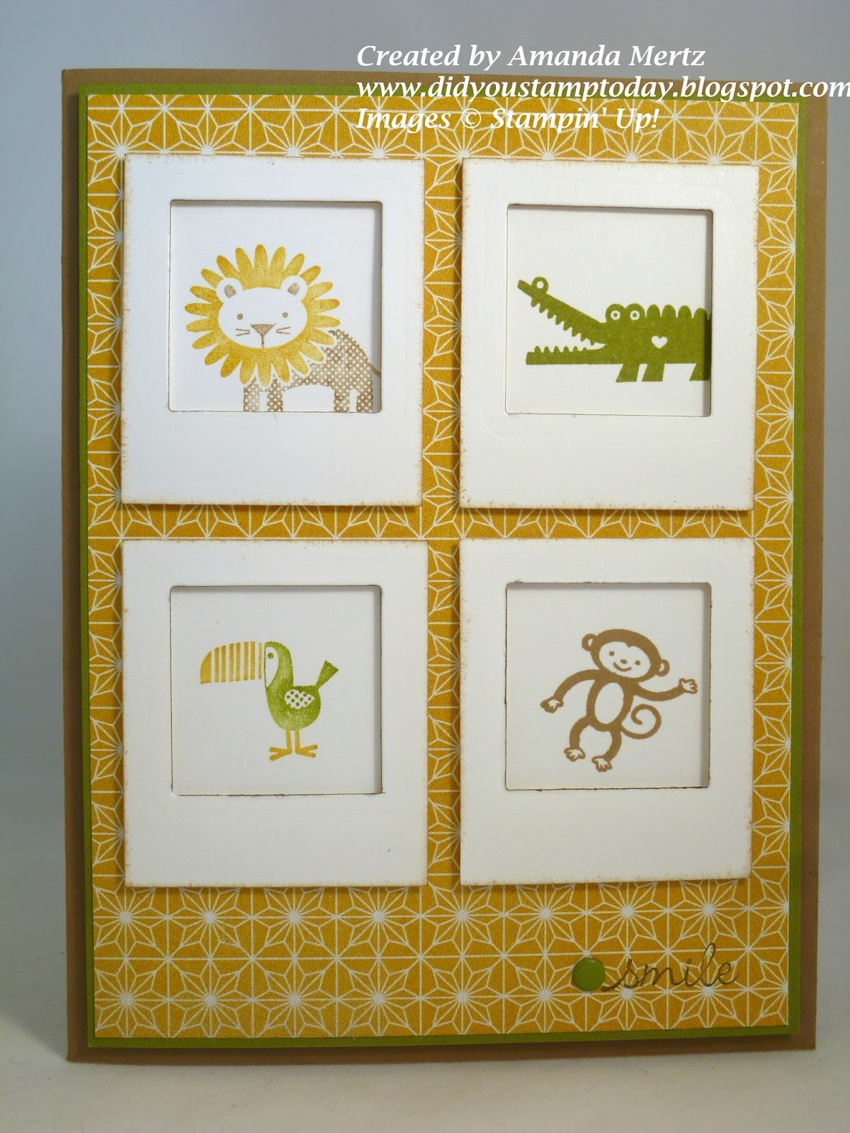 Did You Stamp Today?: Mini Polaroid Frames - Fab Friday 27