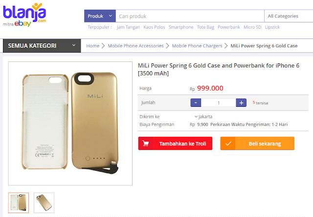 powerbank murah di blanja.com