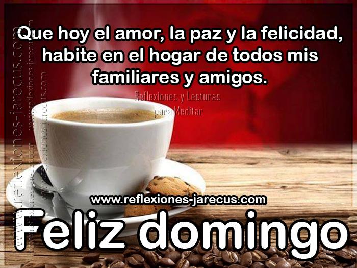 Feliz domingo✅Que el amor, la paz y la felicidad, habite en el hogar de todos mis familiares y amigos.