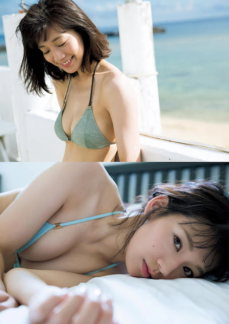 佐藤美希 Sato Miki AGAIN Weekly Playboy Nov 2016