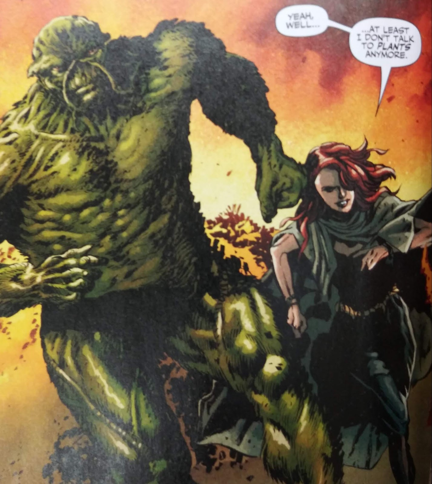 Swamp Thing #1 (Walmart 100 Page Comic Giant!) Review - GWW