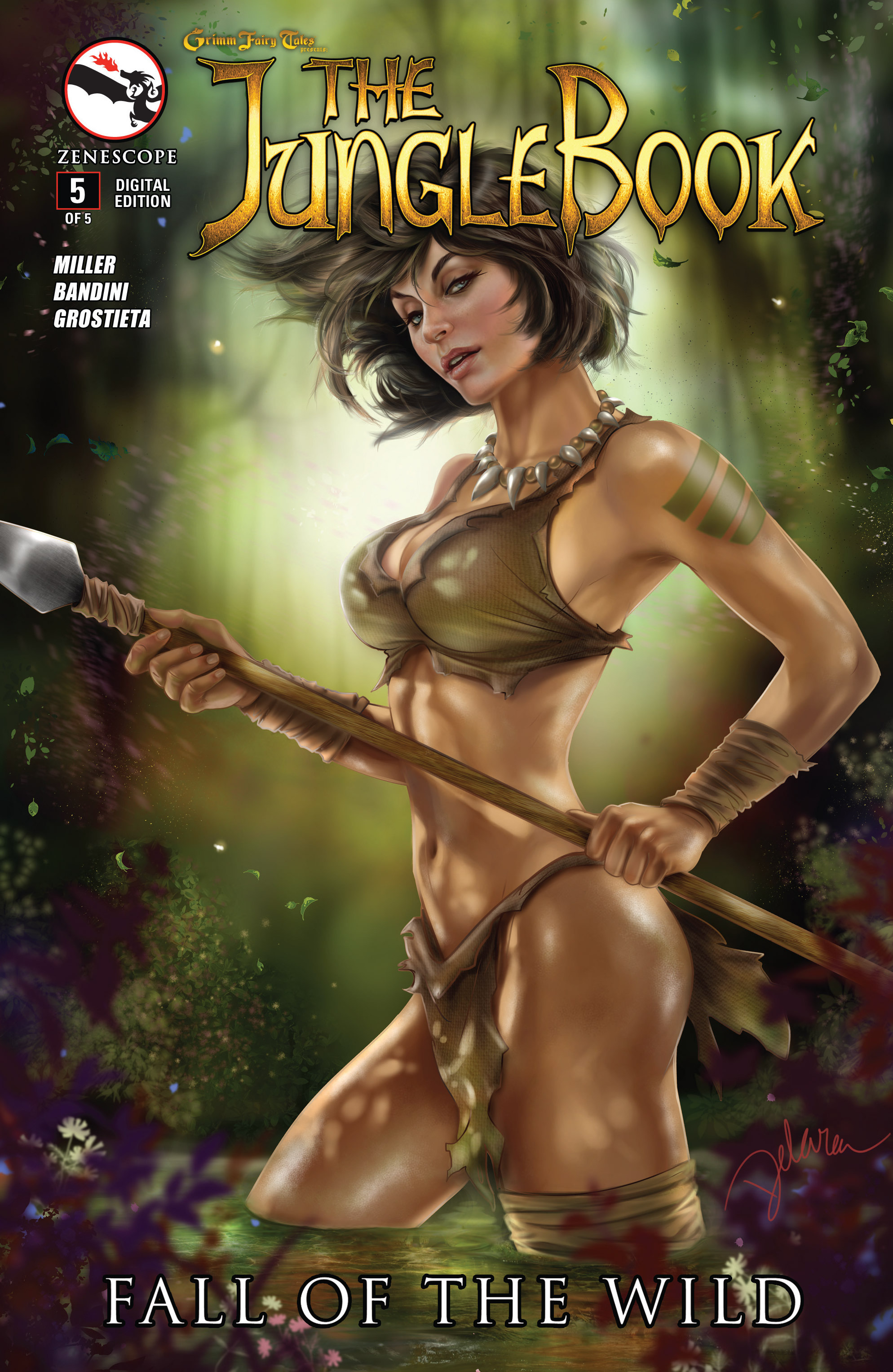 Grimm Fairy Tales presents The Jungle Book: Fall of the Wild 5 Page 1