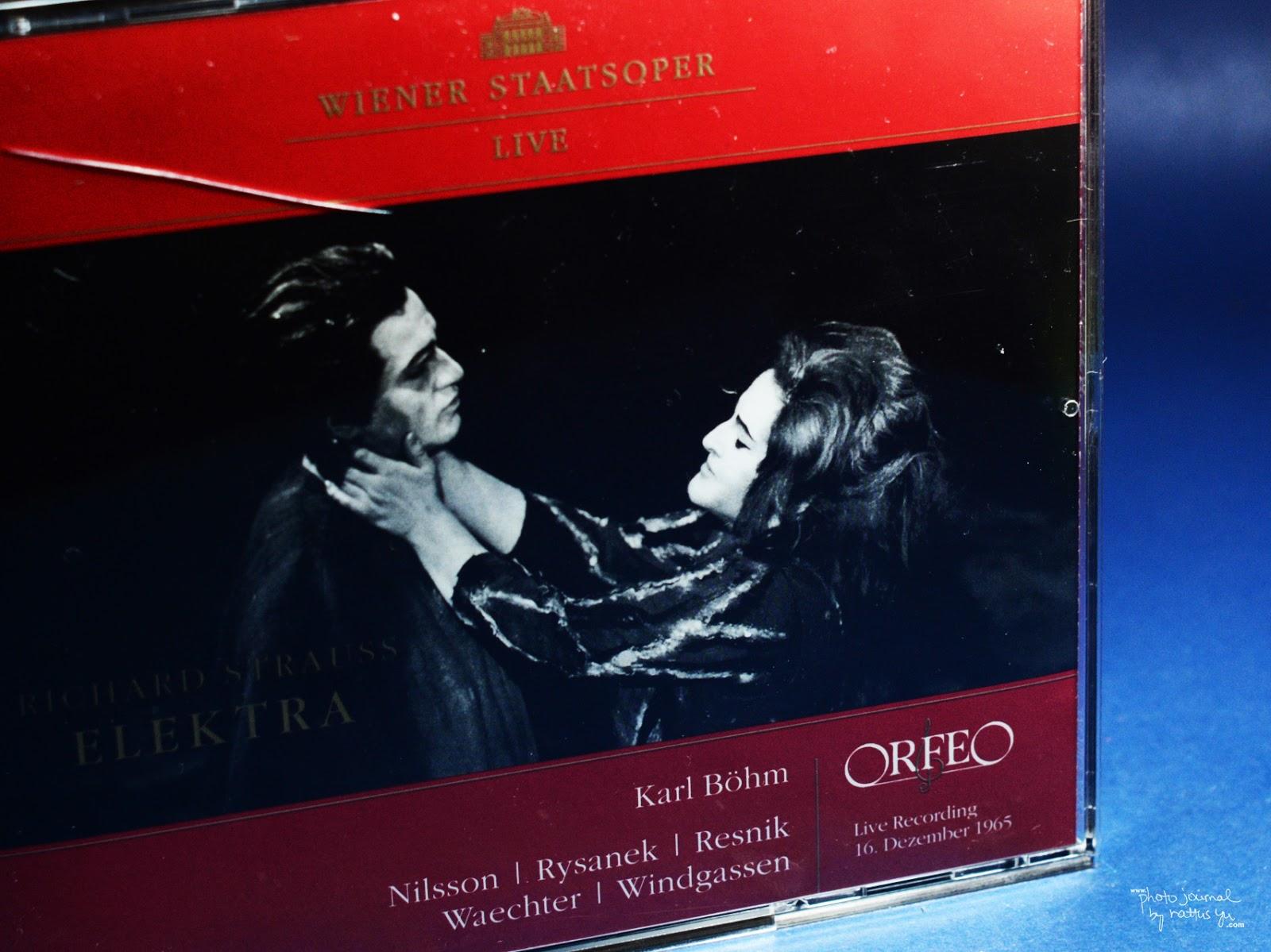 UNBOXING: Richard Strauss' ELEKTRA, Live Recording from Vienna (1965)