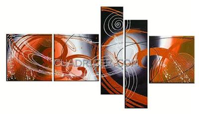 http://www.cuadricer.com/cuadros-pintados-a-mano-por-temas/cuadros-abstractos/cuadros-explosion-naranjas-tripticos-varias-piezas-1837n.html