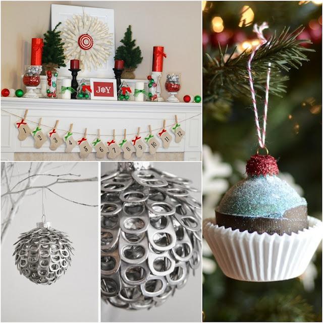 ideias para decoração econômica Natal