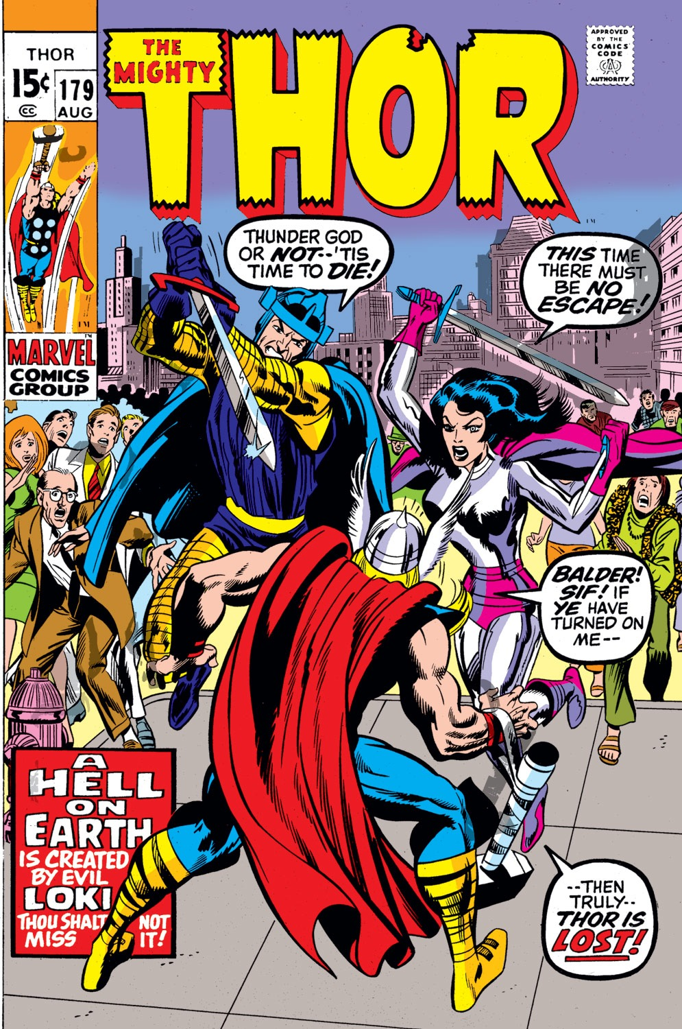 Thor (1966) 179 Page 1