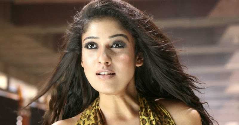 Nayantara South Indian Actress Hot Navel Cleavage Show -9873