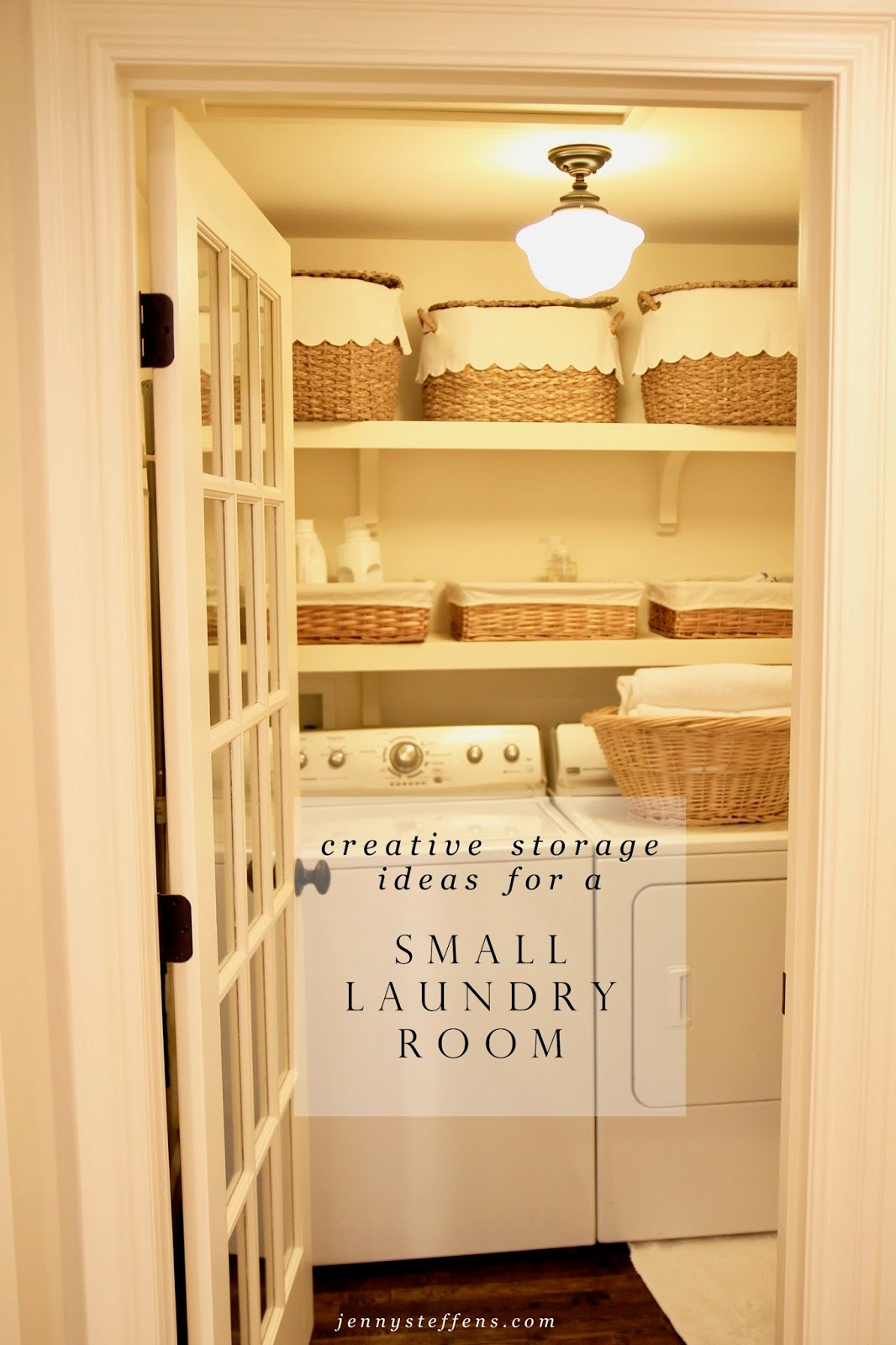 Jenny Steffens Hobick Our Little Laundry Room Creative