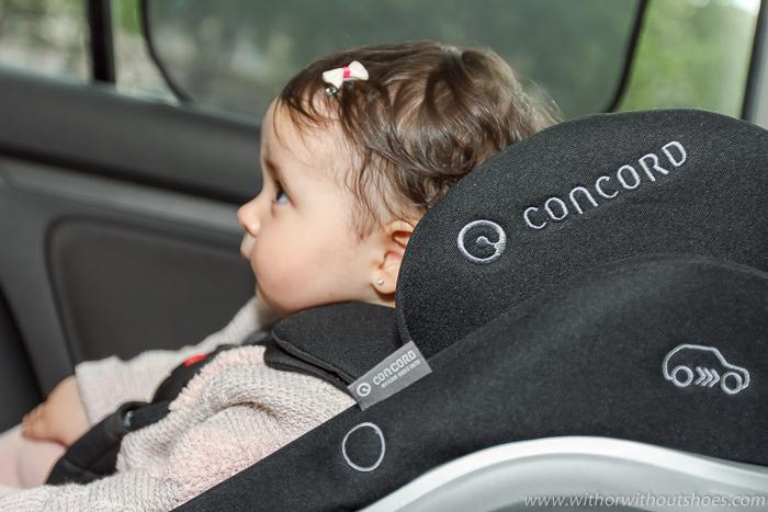 CONCORD Reverso Plus - Viajar en coche con tu bebe