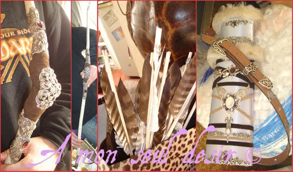 les coulisses d 39 une s ance photo mars 2012 amalth e la nymphe en armure. Black Bedroom Furniture Sets. Home Design Ideas