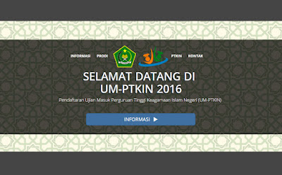 Daftar Prodi Jurusan UM-PTKIN Uin Alauddin Makassar 2016/2017