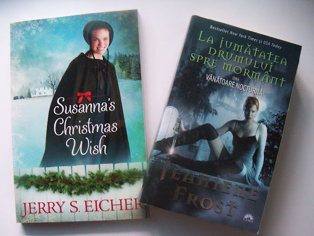 Susanna's Christmas Wish de Jerry Eicher și La jumătatea drumului spre mormânt de Jeaniene Frost