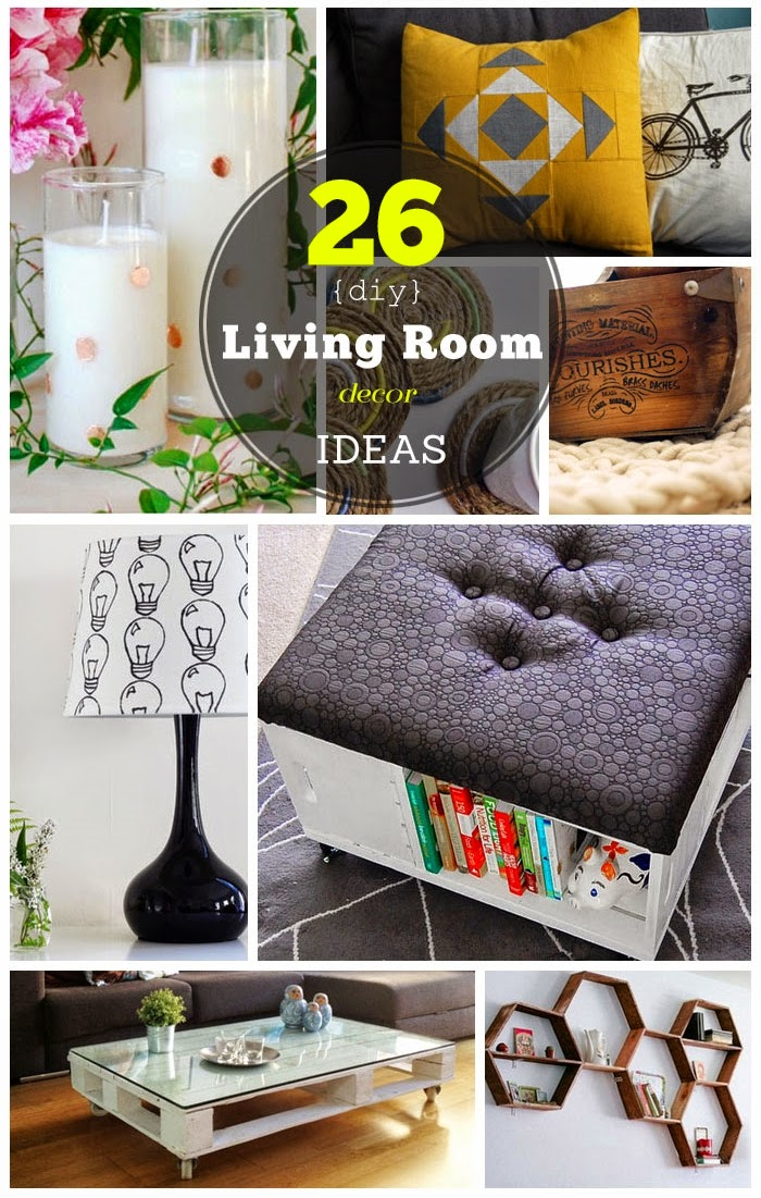 Family Room Design Ideas On A Budget: 26 DIY Living Room Decor Ideas On A Budget