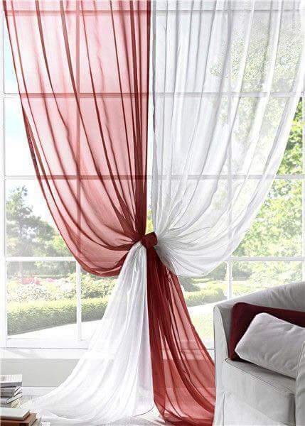 Formas originales de colocar cortinas decoraci n del - Formas de cortinas ...