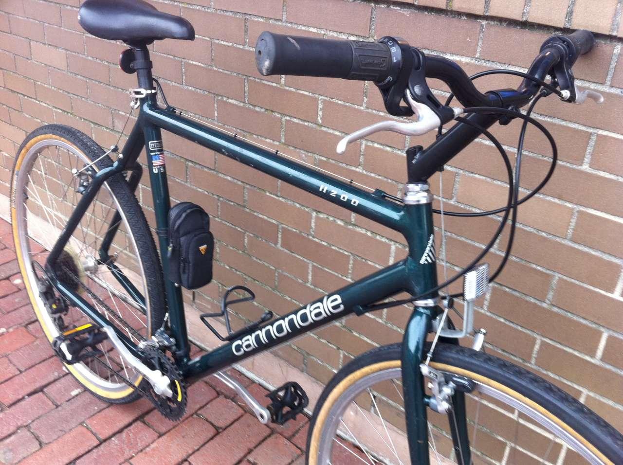 Bike Boom refurbished bikes: 1996 Cannondale H200