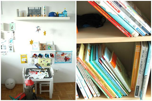 IKEA Hack Hochbett selberbauen Treppe Stuva Ritterburg Ritterbett Leseecke IKEA Stuva Kinderzimmer Jules kleines Freudenhaus