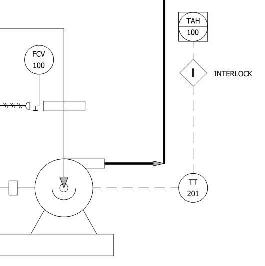 how to read interlock logic diagram