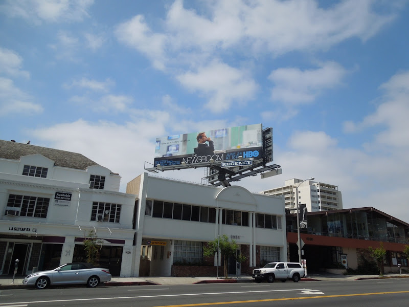 Newsroom HBO billboard